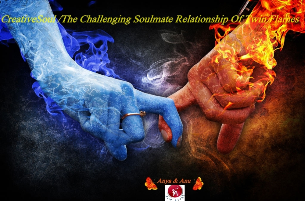 CreativeSoul/The Challenging Soulmate Relationship Of Twin Flames